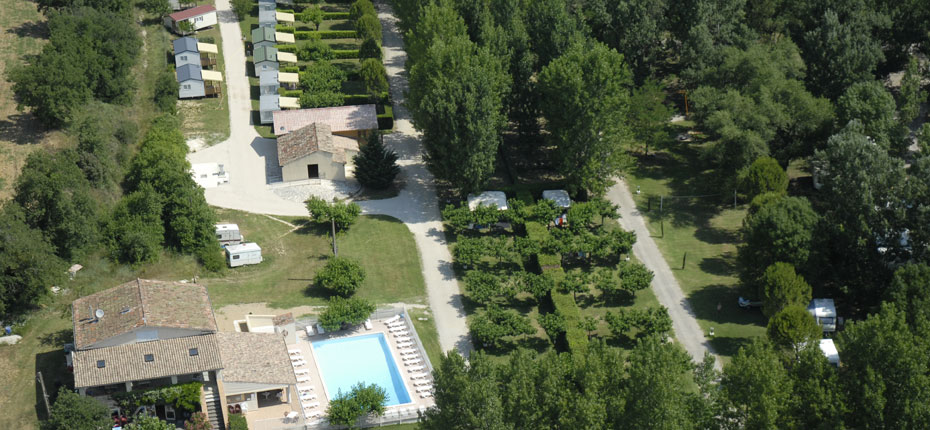 Welcome to LA COMBE CAMPSITE in Gard between the River Ardèche and the Cèze
